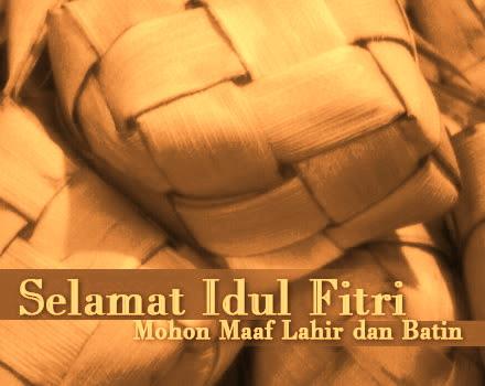 Selamat Idul Fitri 1431H